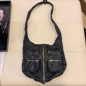 Alexander Wang Zipper Black bag